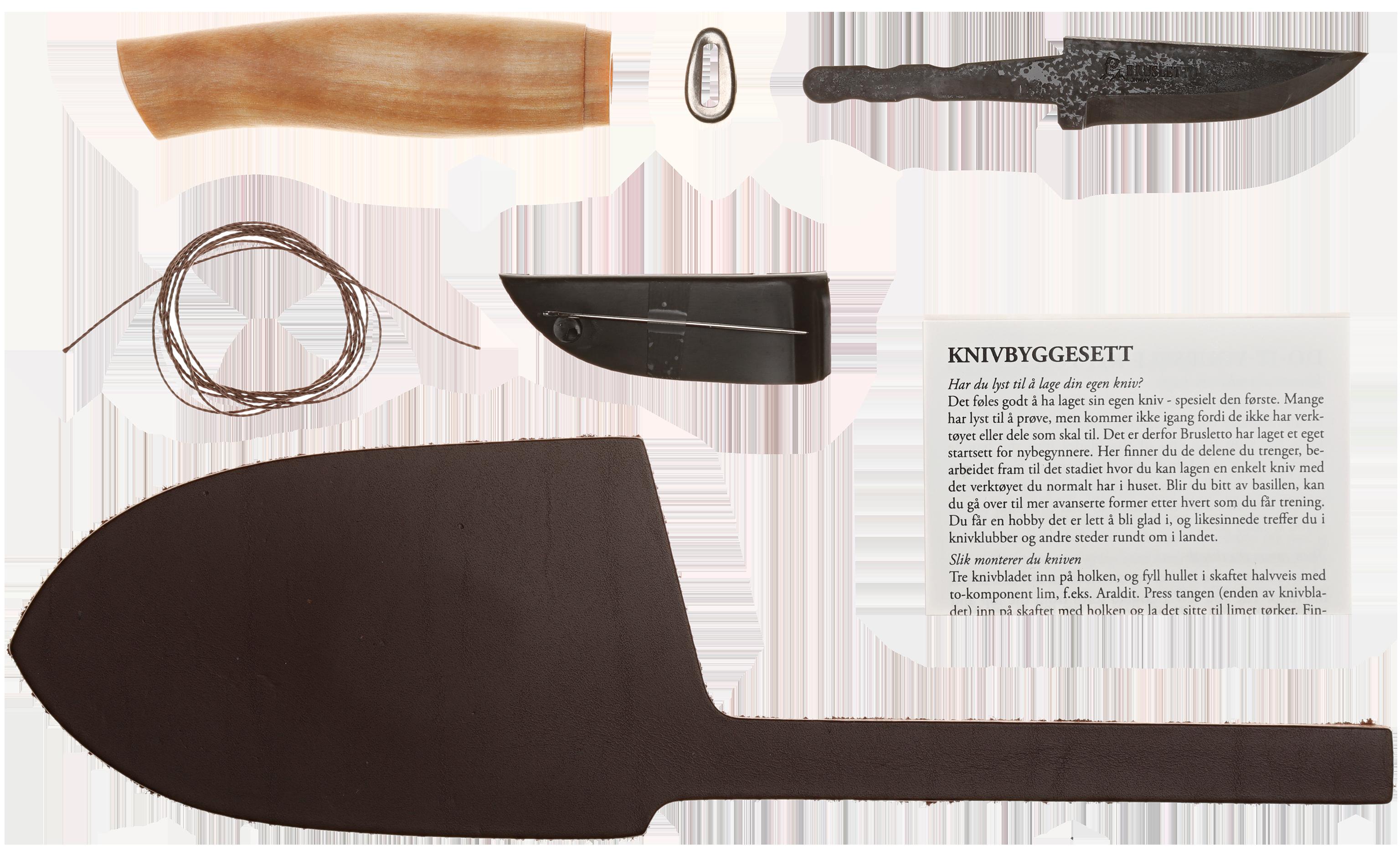 Brusletto Byggesett 3 Spikkekniv